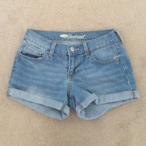 Pants - Light wash shorts